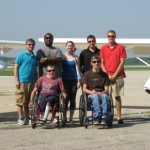 AF students with Purdue instructors