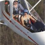 Sky Arrow in flight