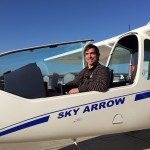 Stephen Carrier in Sky Arrow