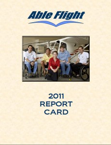 2011 Report Card Front Page