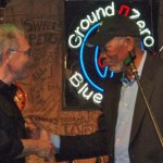 Charles Stites & Morgan Freeman at Able Flight benefit