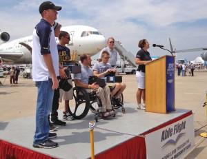 Sennheiser presentation at Wings Ceremony