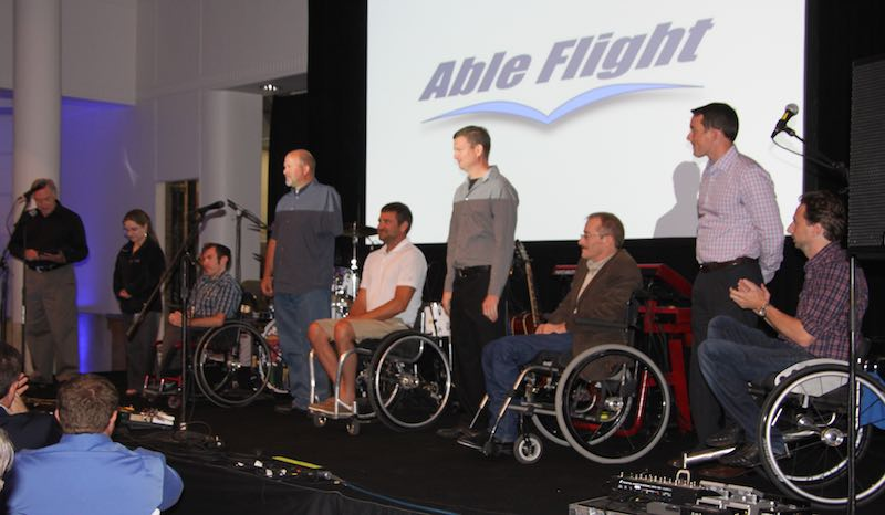 Able Flight Annual Benefit A Resounding Success