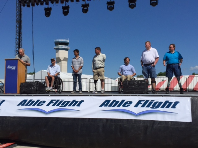 Able Flight Pilots Honored at AirVenture